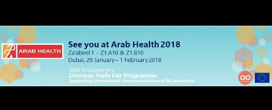 See you at Arab Health 2018!