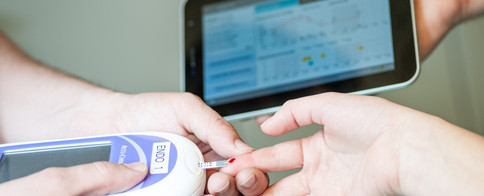 High-tech fight against diabetes